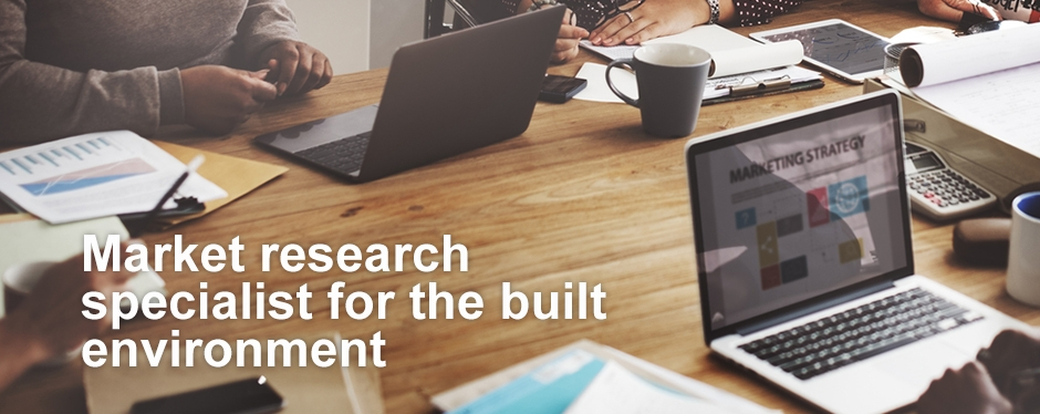 Market Research specialist for the built environment
